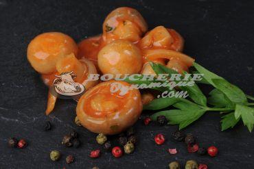 Brochette de filet de canard aux 3 poivres
